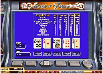 SupaJax Progressive Video Poker